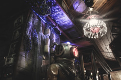 The Deep (SolipsisNoir92) Tags: weird bubble room diving beach vintage chandelier lights