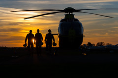 DSC_9746 (Paul Humphries68) Tags: aviation events midlandsairambulance sunsetsunrise tatenhill