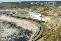 Parton (4486Merlin) Tags: 46115 cumbria england europe exlms lms7proyalscot railways scotsguardsman steam transport unitedkingdom whitehaven gbr wintercumbrianmountainexpress rytc wcrc