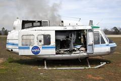 ex-N419NA_BellUH-1H_NASA_Ozark (Tony Osborne - Rotorfocus) Tags: nasa bell uh1h huey uh1 iroquois ozark alabama wreck
