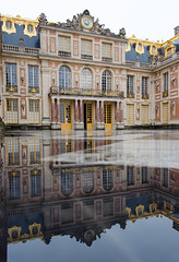 Versailles (David Khutsishvili) Tags: davitkhutsishvili dkhphoto paris france europe château versailles empty architecture reflection nikon d5100 1855mm instagram 500px vertical