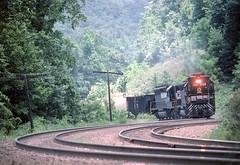 SOU 3169                     5-23-85 (C E Turley) Tags: railroads railways trains southern sd45 saludagrade