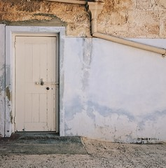 Door & Pipe (Peter.Bartlett) Tags: fremantle wa australia prison wall door drainpipe vsco iphone7 cellphone mobilephone square