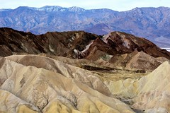 DV Zabriskie Point Badlands Up Close 7 (Eyes Open To Life) Tags: mountains cliffs nature desert deathvalley zabriskiepoint landscape badlands ngc 100commentgroup
