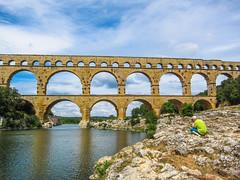Pont Du Gard (Laszlo Horvath.) Tags: pont du gard france bridge provance