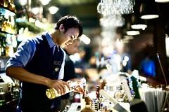Bartender. noctilux 50mm f0.95 Sony A7RM2 (wishnutama) Tags: bartender people sony leica noctilux f 095 a7m2 50mm parc 19 kemang jakarta indonesia restaurant bar nightlife cocktail