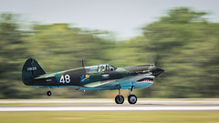 P40 Panning Take Off (4myrrh1) Tags: red maxwell afb al alabama aircraft airplane aviation airshow airplanes airport canon 7dii ef100400l