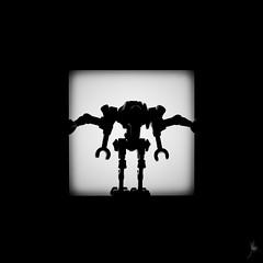 Shadow (334/100) - Grevious (Ballou34) Tags: 2015 ballou34 blackwhite canon flickr lego light minifigures shadow 650d afol eos eos650d legographer legography photography rebelt4i stuck plastic t4i toy toys rebel 2016 photgraphy enevucube minifigure 100shadows star wars starwars grevious general