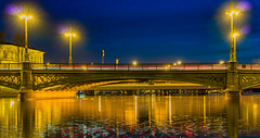 Vasabron at night (Daniel BJ Bengtsson) Tags: 1when 2where 3subject bridge citypostaladress country county night stockholm sweden timeofday