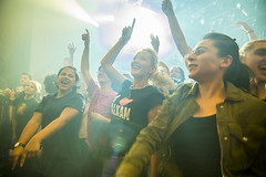 Amsterdam, The Netherlands  -16 April 2017: concert of Bosnian rock music band Dubioza Kolektiv at venue Melkweg -26 (CloudMineAmsterdam) Tags: dubiozakolektivmelkwegamsterdam amsterdam artists band concert concertlights crowd editorial electricguitar entertainment europe event gathering rock dub leisure lights loud music musician netherlands holland party people performance show singer vocals cheering audience happysmile fun hiphopreggae