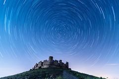 Castillo de Almonacid - Circumpolar (Yorch Seif) Tags: castillo almonacid circumpolar nocturna
