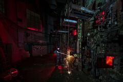Der Heizer (Sven Gérard (lichtkunstfoto.de)) Tags: lightart lightartphotography lightpainting light lights lichtkunst lichtmalerei sooc glpu