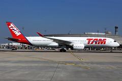 TAM  Airbus A350-941 PR-XTB (widebodies) Tags: paris charles de gaulle cdg lfpg widebody widebodies plane aircraft flughafen airport flugzeug flugzeugbilder tam airbus a350941 prxtb