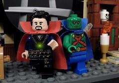 Cape Bros (MrKjito) Tags: lego minifig super hero comic comics dc marvel cinematic unvierse capes doctor strange martian manhunter bros