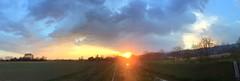 SKY & CLOUDS 1 (Sergio Savioli) Tags: wolken nuvole cielo himmel sunset pfad sentiero path fluss longhella river sergiosavioli