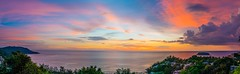 Sunset Thailand (_Sebastian Loeffler_) Tags: panorama mega geniesen bar reggea pauket holiday best beach light red sonnenuntergang sunset ii 77 alpha sony urlaub thailand