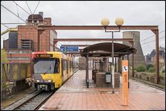 01-04-17 TEC 7412, Marchienne-au-Pont - Providence (Julian de Bondt) Tags: tec tram metro leger de charleroi premetro marchienne providence