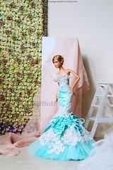 Fierce Couture by Ghiya ft. Tango Barbie (Leochris91) Tags: harpersbazaardollharpers bazaar dollpure couturekendal jenner barbie dolltango facemoldbarbie basic no 12