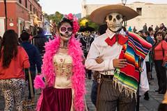 Oaxaca Day of the Dead Celebration face paint-5