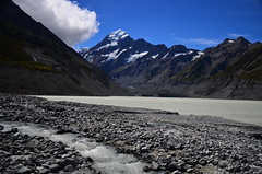 Mount Cook, NZ (phudd23) Tags: nz newzealand southisland mountcook lake river