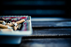 free of cigarettes since 72 hours (TSET0147) Tags: canon canon35l14 canon7d canonef35mmf14lusm cigarette zigarette smoke rauchen festbrennweite prime primelens bokeh dof f18 depthoffield detail tset0147 tset tryingtoquitsmoking