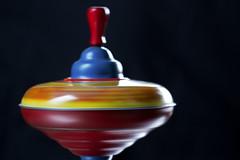 intentional blur (1crzqbn) Tags: intentionalblur macromondays tinytoytop spinning wheeeeeeeeeeeeeee blur