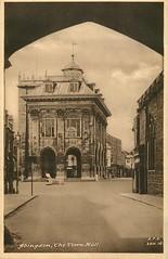 Abingdon Town Hall (mgjefferies) Tags: england berkshire postcard hall abingdon 1948