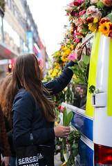 (Christine H.C. Valenzuela) Tags: stockholm sweden sverige terror attack people community united grieving tragedy 2017 peace terrorism love unity swedish svenska svenskar flowers girl woman europe life