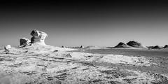 White desert, Egypt (pas le matin) Tags: desert sahara whitedesert egypt egypte africa afrique world travel landscape dry paysage sec sand stone sandstone limestone bw nb noiretblanc blackandwhite canon 7d canon7d canoneos7d eos7d