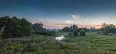 ПОКА ДЕРЕВНЯ СПИТ / WHILE THE VILLAGE SLEEPS (Павел Ныриков) Tags: деревня поле туман рассвет река
