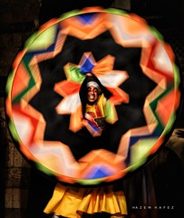 Who's Looking At Who .. Egyptian Tanoura Dance (Hazem Hafez) Tags: dance egyptianfolklore culture heritage egypt alhadra tannoura cairo tradional art islamicart middleeast