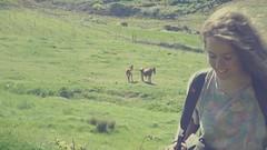 (Sa Shula de Tarifa) Tags: fela ella she her mujer woman chica niña girl risa laugh campo countryside caballo horse verde green hierba grass ronda málaga andalucía andalusia españa spain primavera spring