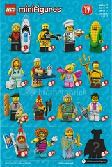 71018 Collectible Minifigures Series 17 (The Brothers Brick) Tags: 71018 collectible minifigures series 17 review 2017 lego minifigs