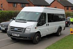 Smith, Fordbridge NC57 TMZ, Ford Transit in Swindon Lne, Cheltenham (majorcatransport) Tags: westernmidlandsbuses smithfordbridge cheltenham ford fordtransit