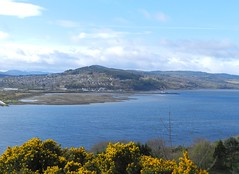 Inverness from Ord Hill, Black Isle, Easter Saturday 2017 (allanmaciver) Tags: gorse water beautly firth inverness height viwpoint blue skies weather april showers allanmaciver