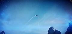 USS Franklin Departs Altamid. (ManOfYorkshire) Tags: startrek beyond takeoff depart altamid planet kirk nx326 uss ussfranklin