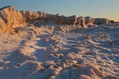Winter Ridge (peterkelly) Tags: digital canon 6d northamerica southcottpines grandbend ontario canada lakehuron greatlakes winter ice ridge frozen sunset dusk evening blue sky sunlit