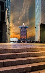 ADAM Tower (mcalma68) Tags: amsterdam architecture sunset ijdok adam tower