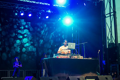 Grandmaster Flash at McCarren Park Stage (glamglare) Tags: concert brooklyn ny usa us