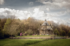 Temple of the Four Winds (aveyardphotography) Tags: castle howard stone old building historic henderskelfe lawn flowers trees woods cloudy sky daylight light temple four winds 4 stately home gardens nature architecture
