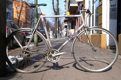 Trek 1200 (velostat.) Tags: cvelostat13086berlinlanghansstrase6 langhansstrase6 trek1200 fahrrad aluminium