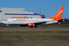C-FLSW (Sunwing Airlines) (Steelhead 2010) Tags: sunwingairlines boeing b737 b737800 yyz creg cflsw