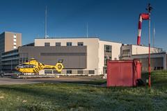 Rescue helicpter Christoph 16 in morning light. (dr.rol) Tags: hubschrauber luftfahrt rettungsdienst saarbrã¼cken