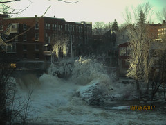 Middlebury Falls (mike greenwood 13) Tags: middleburyvt vermont middleburyfalls ice ottercreek
