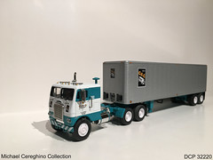 Diecast replica of Chicago Kansas City(CKC) Freightliner, DCP 32220 (Michael Cereghino (Avsfan118)) Tags: chicago kansas city ckc freightliner diecast die cast promotions promotion dcp 32220 model toy truck semi replica 164 scale michael gully freight lines