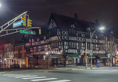 Nassau and Witherspoon (• estatik •) Tags: nassau witherspoon street intersection princeton nj mercer night long exposure new jersey panorama empty university college shops architecture outdoor hamilton jewelers