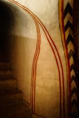 Ornament (Tiigra) Tags: verona veneto italy it 2011 architecture church color interior ornament romanesque stairs