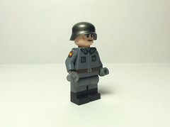 El División Azul. (Kalev123) Tags: lego custom painted soldier ww2 fascist spain nazi germany azul blue division acrylic volunteer falangist