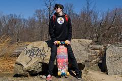 Mike (davegammon.media) Tags: portraitphotography longboard longboarding skateboard skateboarding skater rider team sport portrait person male skateboardlifestyle skaterlife skaterportrait sk8life stimtrucks stimulateyourself madrid venom andrewmercado outdoor rocks trees