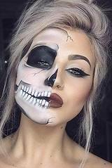 Skull | Skeleton Halloween Makeup , #makeup , FB: http://ift.tt/2pSUioL (ineedhalloweenideas) Tags: skull | skeleton halloween makeup costume happy h